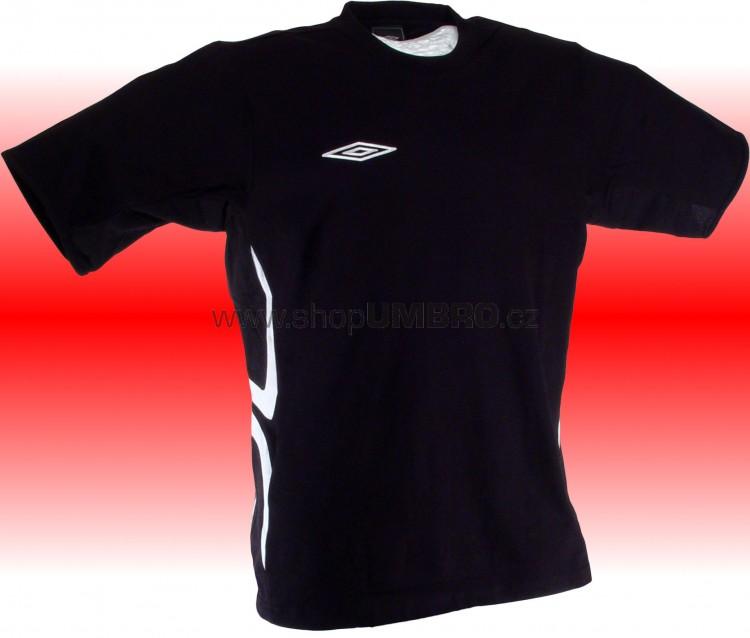 Umbro Tričko TEAM X COTON (černá) - Trika