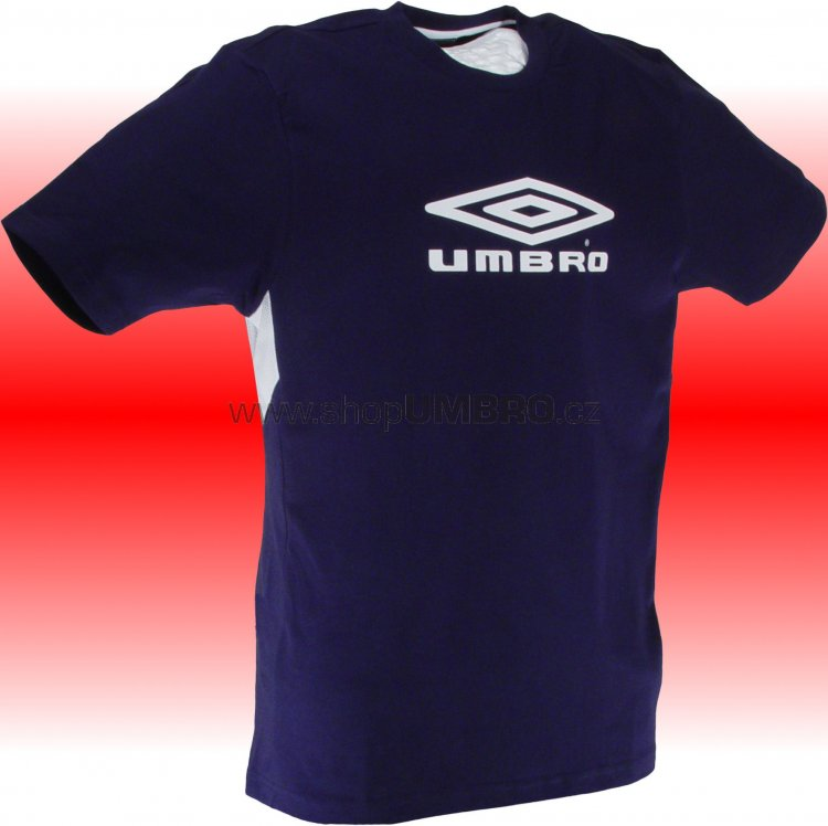 Umbro triko TRAINING II BASIC-1- (tmavě modrá) - Trika