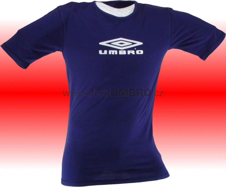 Umbro Tričko MATCH+TRAINING II (modrá) - Trika