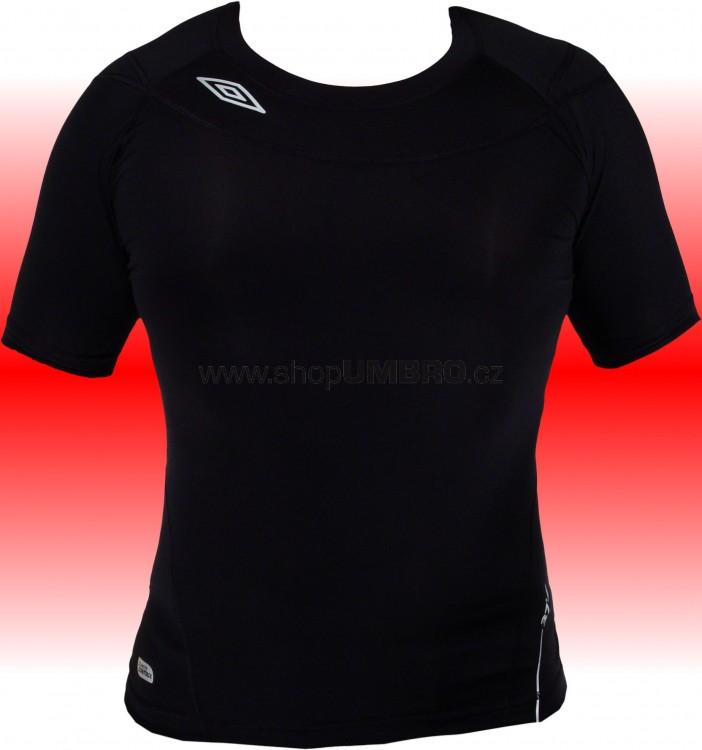 Tričko S/S CREW. 37° Jr (černá) - Termoprádlo