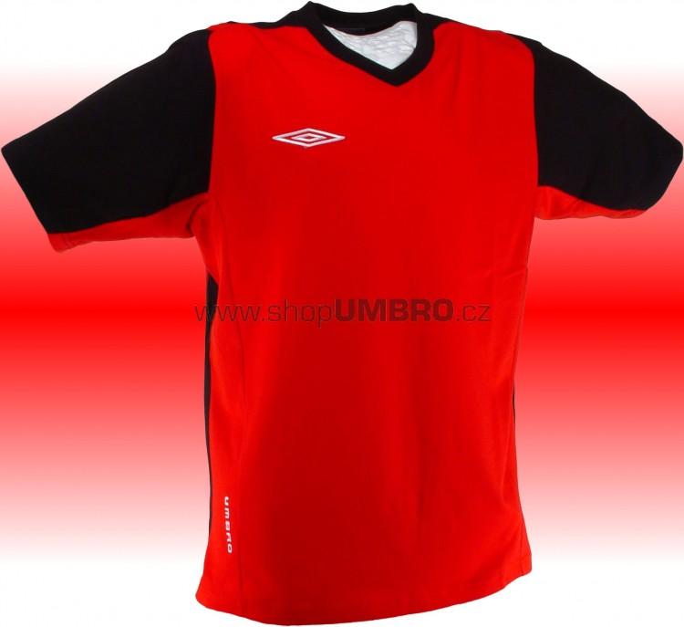 Umbro triko TRAINING II - V (červená) - Trika