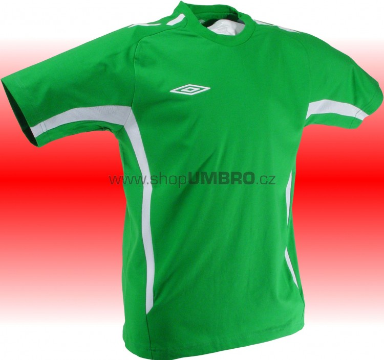 Umbro Tričko TEAM COTTON -DD-(zelená) - Trika