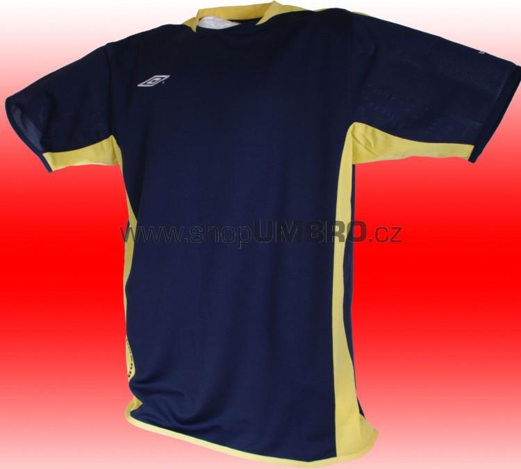 Umbro triko TRAINNING POLY (modro-žlutá) - Trika