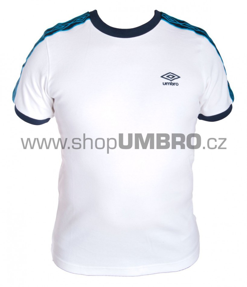 Umbro triko DIAMOND I. Taped bílé - Trika