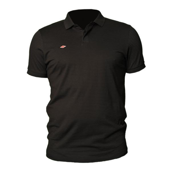 Umbro triko Polo TAILORED černé - Trika
