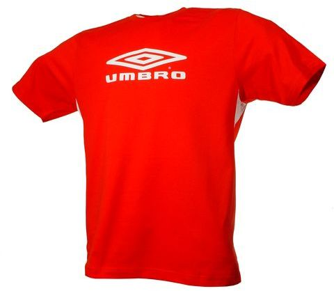 Umbro triko TRAINING II BASIC-1- (červená) - Trika